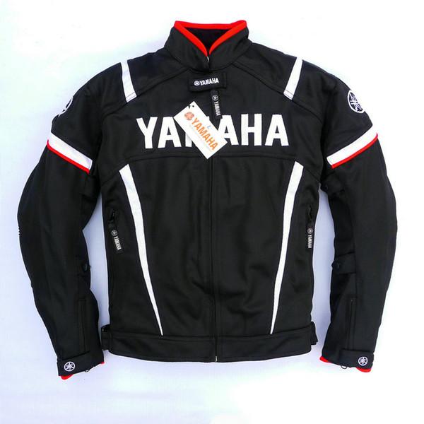 2017 MotoGP chaqueta de carreras de verano con protector para el equipo YAMAHA M1 Motocross Motocicleta Ropa