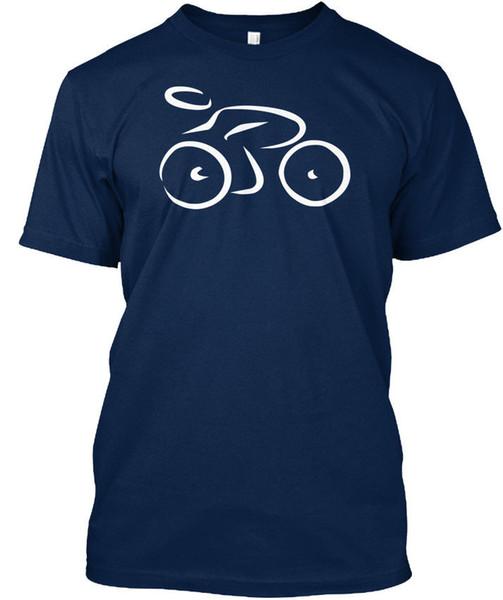 Велоспорт Стандартный Унисекс Футболка