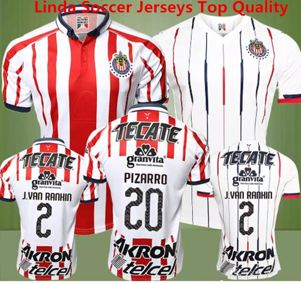 quality design 86b5f 51911 2019 Soccer Jersey Chivas Guadalajara Camisetas De Futbol 2018 2019 Chivas  New Red Jersey Deportivo O.BRAVO REYNA PULIDO E.LOPEZ Mexico MX Shirts From  ...