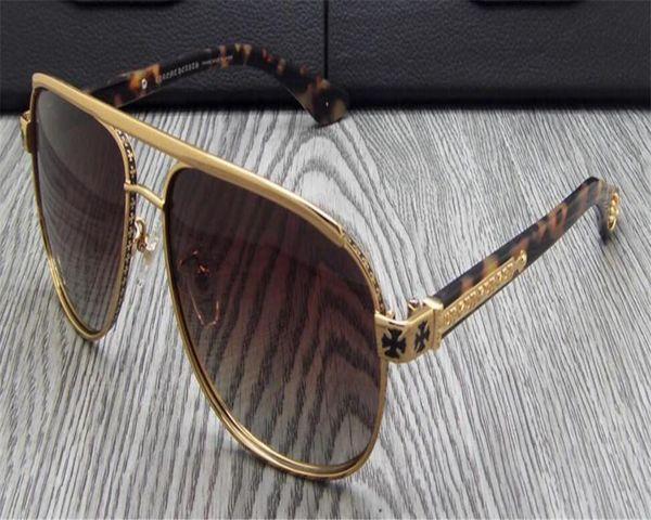 11954e34f1 DOWER ME Newest Design Business Men Alloy Full Rim Retro Gold Silver Driver  Polarized Sunglasses UV400 Goggle Eyewear Frame