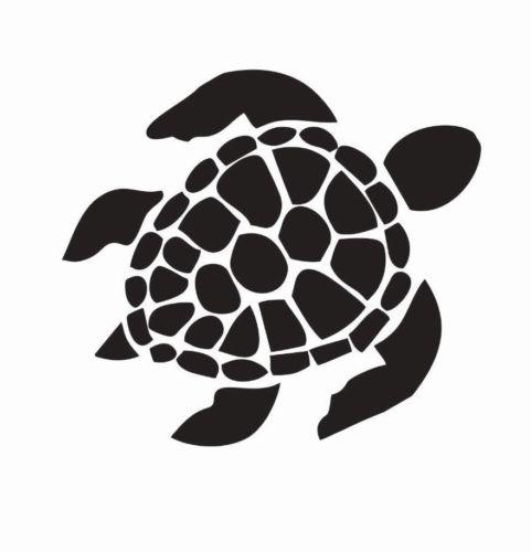 Turtle animal die-cut car decal sticker vinyl car packaging personalized decorative creative stickers