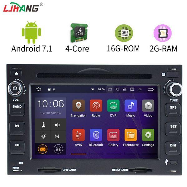 LJHANG Android 7.1 Car DVD Player For VW  Passat B5 JETTA BORA POLO GOLF T4 T5 CHICO Multimedia GPS Navigation Radio