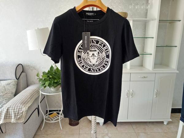 Moda Logotipo Da Caixa de Alta Qualidade Paris Fan Made Carta impressão Algodão Camiseta Das Mulheres Dos Homens Do Vintage Coco Capatain T-shirt