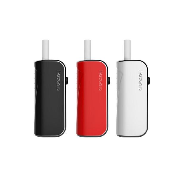 Original Airis Herbva TC Starter Kits 1200mAh Battery Baking Device Smoking Portable Complete Vaporizer Kit With Ceramic Pot Heating DHL