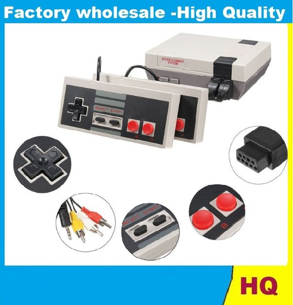 New Arrival Mini TV can store 620 500 Game Console Video Handheld for NES with retail boxs