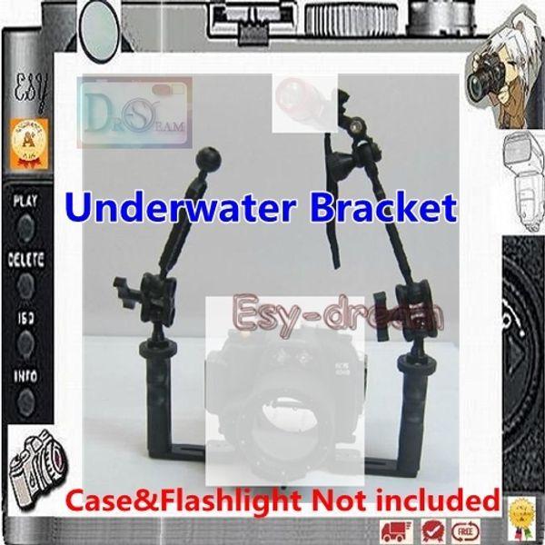 Unterwasser Arm Halterung für wasserdichte Kamera Gehäuse Strobe Flash PP108
