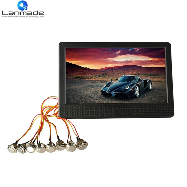 10 inch factory 12V lcd screen advertising boards button control factory direct speedy delivery