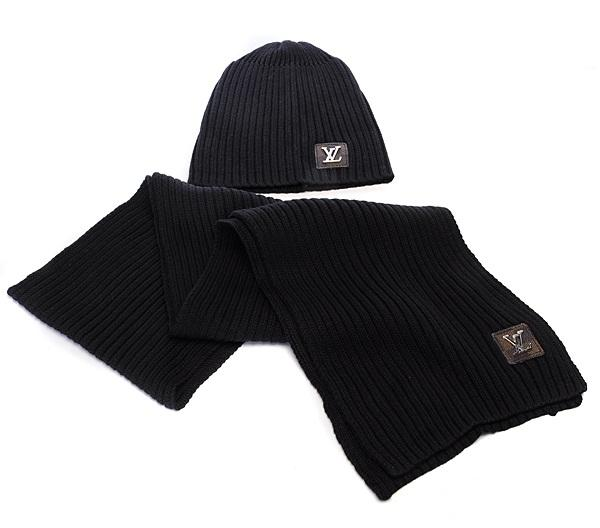 Scarf + hat for both men's and women's fashion embroidery brand scarves 6987#
