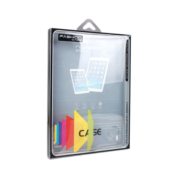 Wholesale DIY Print Your Brand Name Transparent Plastic Box for Pad mini Retail 9 inches Luxury PVC Package
