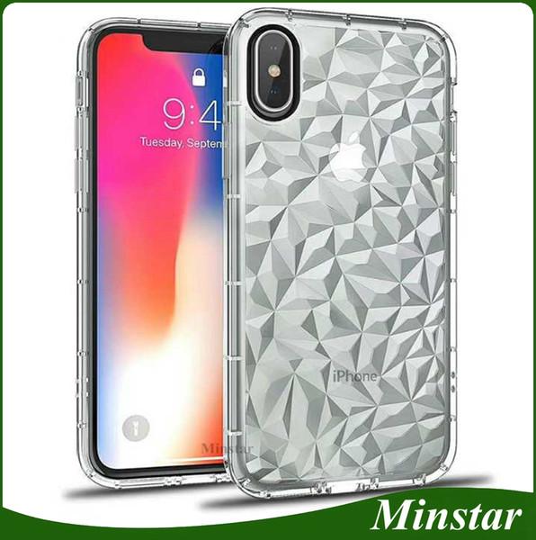 European Model Rough Diamond Transparent Fashion TPU Phone Case for Samsung Galaxy J7 Pro J730 J7 2017 J530 J5 PRO J330 J3Pro Cover