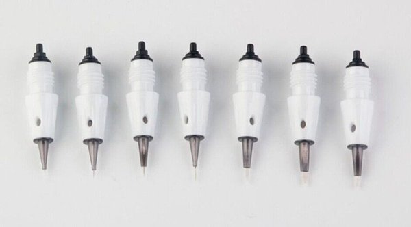 10pcs PMU Permanent replacement Needle Cartridge tattoo Needles Tips Fits for Artmex V9 V8 V6 V3 A3 semi makeup machine derma pen