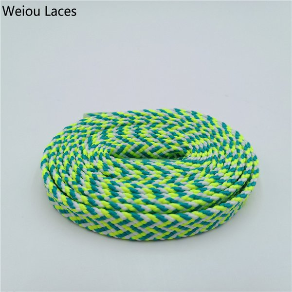1839White-Green-Fluorescent Yellow 120cm