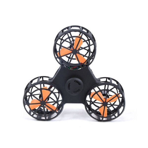 Outdoor Toy Air Rotating Gyro Funny Fingertip Toys Back Rotation Rechargeable Flying Fidget Spinner Venting Decompression Toy 100pcs