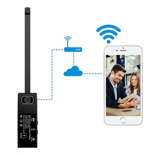 Cámara digital de video HD 1080p 12MP wifi Lente Dual Módulo DIY Cámara de seguridad para oficina DVR videocámara soporte detección de movimiento