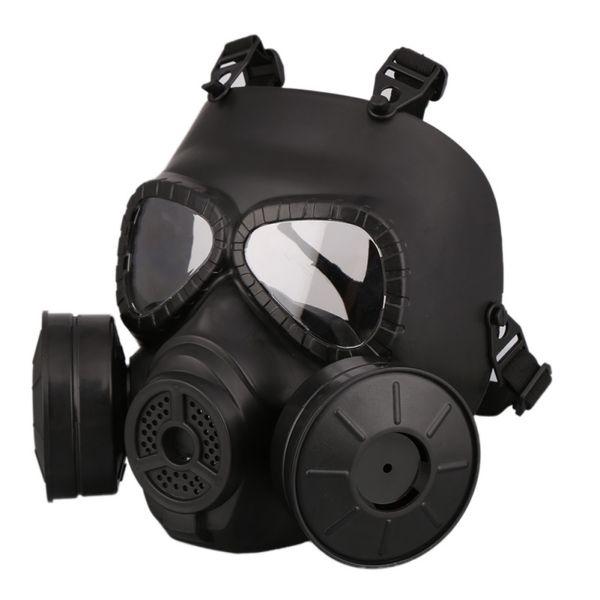 M40 двойной вентилятор противогаз CS фильтр пейнтбол шлем тактический армия Capacetes де Motociclista гвардии FMA косплей