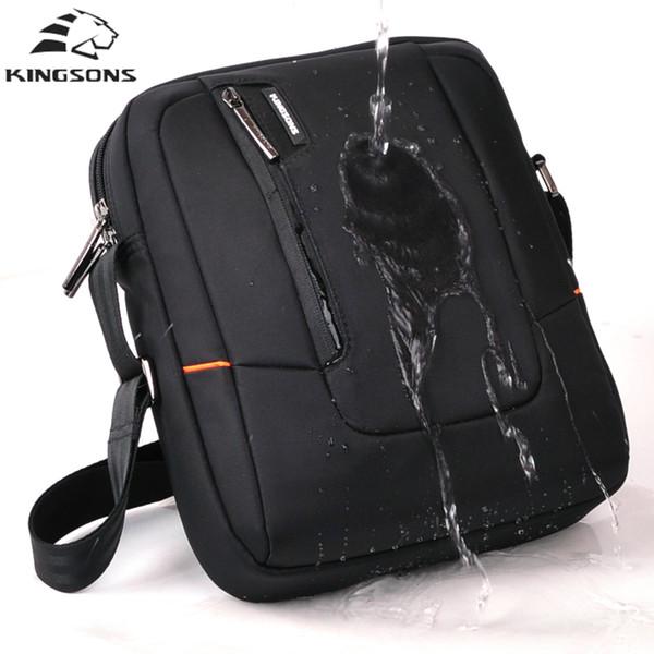 kingsons Men bag fashion Crossbody Shoulder Bags for Man high quality nylon casual messenger bag business men travel Bolsa 2018