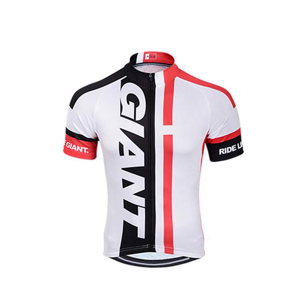 2018 NEW GIANT Camisa de Ciclismo 100% Poliéster Verão camisa de Manga Curta MTB Da Bicicleta Da Bicicleta Da Estrada de Ciclismo Roupas Sportswear Ropa ciclismo
