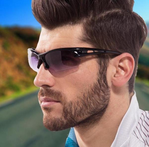 top popular Men Cycling Sunglasses Night Vision Goggles Eyeglasses Outdoor Sports Sun Glasses Fashion Sun Glasses Eyewear 300Pcs 2019