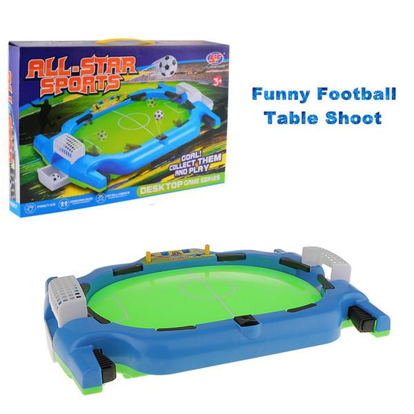 Masaüstü Savaş 2 Oyuncular Mini Masa Futbol Ateş Kapalı Oyun Masaüstü Futbol Masa Oyunu Çocuklar için Spor Interaktif Oyuncaklar
