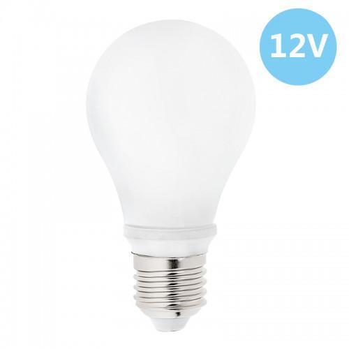 6-Pack Low Voltage 12 Volt 7 Watt LED Light Bulb - E26/E27 Standard Base - Daylight White (Cool White) 6000k 7w Light Bulb