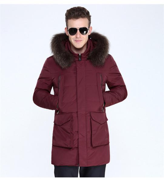 2017 erkek Windbreak Ceket Ceket Yüksek Qualiyu Aşağı Ceketler Beyaz Ördek Palto Erkekler Sıcak Aşağı Parkas Kış Kabanlar Erkekler SY008