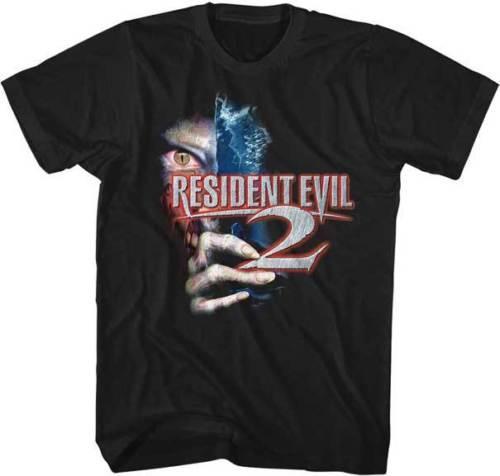 Resident Evil 2 Capcom Video Game Adult T Shirt Great Movie Cool Casual pride t shirt men Unisex New Fashion tshirt