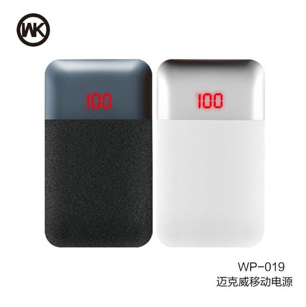 WK REMAX Banque De Puissance 10000 mAh Portable Batterie Externe Batterie De Secours Chargeur Double Banque de Puissance USB Pour Iphone Xiaomi Huawei Batterie