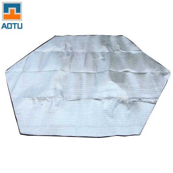 Outdoor Aluminum Foil EVA Camping Mat Portable Pocket Compact Moistureproof pad Blanket Waterproof Chair Picnic Mat