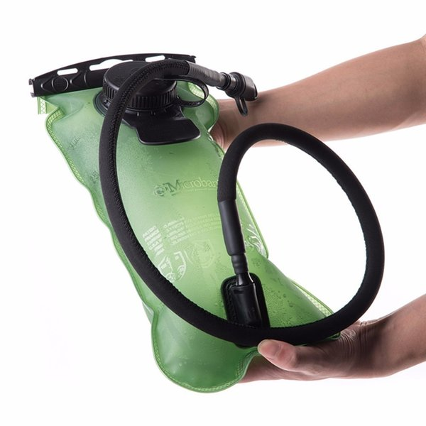 top popular 3L Camping Hiking PEVA Bladder Hydration Water Bag Outdoor Portable Camelback Green Water Bag for Cycling Climbing 2019