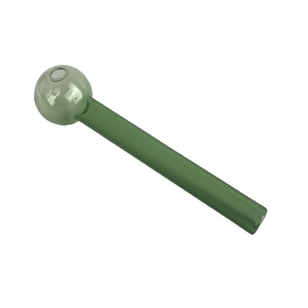 collecteur de nectar 12cm pipe en verre clair Brûleur à l'huile Pyrex 2mm tube de verre épais clou 27mm OD Ball pour l'eau Conduite pour fumer