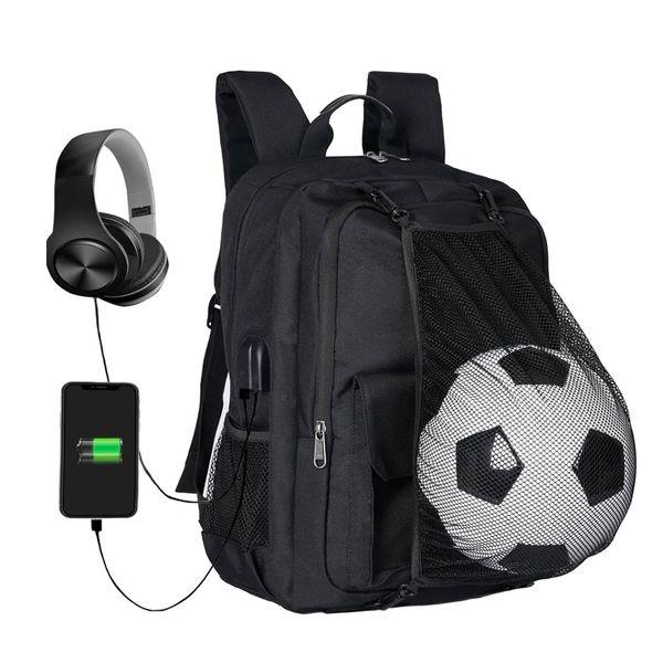 Футбол Рюкзак Баскетбольная сумка Школьные сумки Для Подростка спорт Мяч Пакет Ноутбук Сумка Футбол Чистые Спортивные Сумки 2018 новейшие