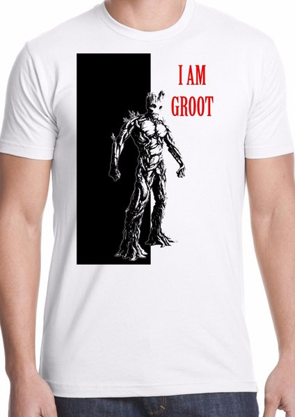 GUARDIANS 5 CHARACTERS LADIES T SHIRT GALAXY GROOT TOP STAR LORD COOL FILM NEW