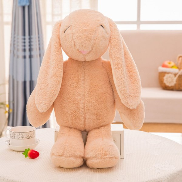 68CM Originality Bundi Mimi Rabbit Long Ear Rabbit Plush Toy 4 Colors Lovely Narrow Eyes Rabbits Stuffed Animals Plush Dolls Free Shipping