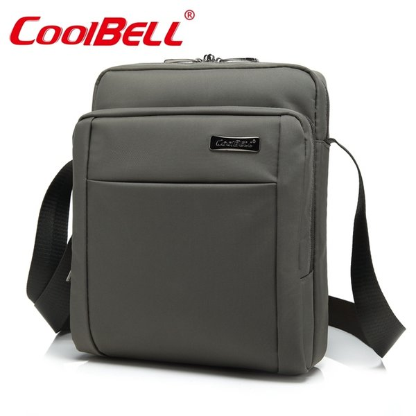 Cool Bell Small Crossbody Bags for Men Women Shoulder Messenger Bag Male Female Sling Bag Boys Girls Laptop Case 10.6 inch