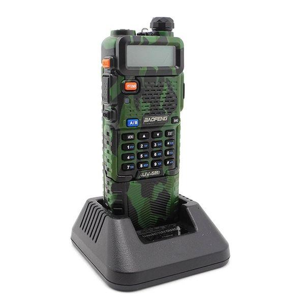 Baofeng UV-5R 3800mAh Batterie Dual Band Zwei-Wege-Radio 136-174 MHz VHF 400-520 MHz UHF Handfunkgerät Walkie Talkies