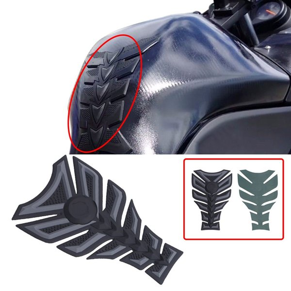 Universal 3D 3M Rubber Motorcycle Modified Fuel Tank Pad Protector Sticker Decal for Harley Honda Suzuki Yamaha C/5