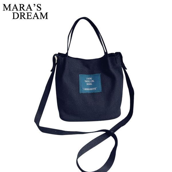 b56a4906338c Mara'S Dream Lady Canvas Handbag Candy Color Mini Single Shoulder Bag  Crossbody Messenger Bag Women Swagger Bag Female Shopping Leather Backpacks  ...