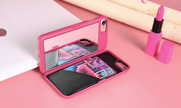 coque iphone 7 plus portefeuille femme