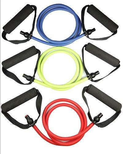 Yoga eight - word tensile force rope expander can adjust fitness a type of latex resistance belt strength training exercise equipment traini