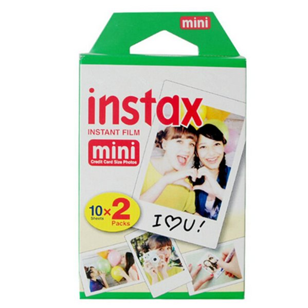 High quality Instax White Film Intax For Mini 90 8 25 7S 50s Polaroid Instant Camera DHL free