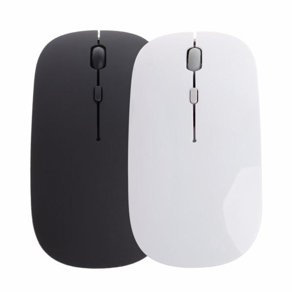 Brand New Top Qualität 2,4 Ghz Wireless Mouse USB Wiederaufladbare Stille Stumm Schlanke Optische Maus Für Apple Laptop PC Computer