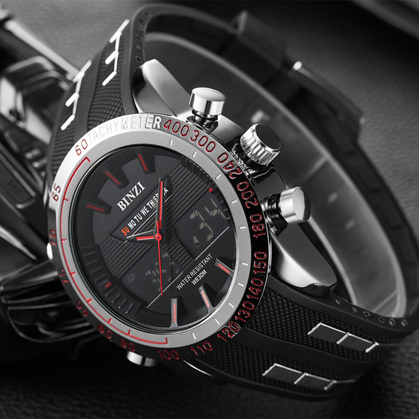 Sports Watch Men Digital Electronic Wrist Watch Waterproof Mens Wristwatch Clock Male Army LE Watches Relogio Masculino