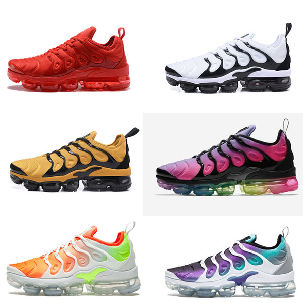 best sneakers aa5ef b8000 Vapormax Plus Tn Shoes Grape Aqua White Fierce Purple Tn Atmos Sunset Total  Orange Tiger Vapormax Tuned Tn Hyper Violet Rare Purple Sneaker Running ...