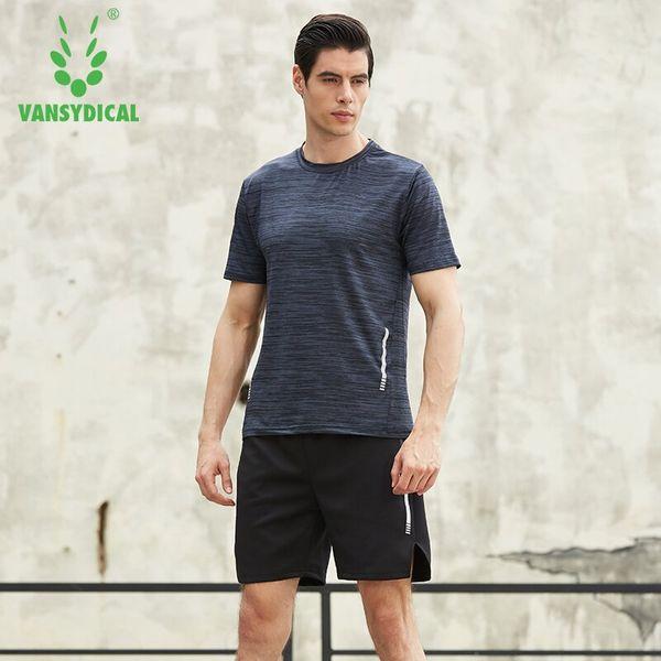 Conjuntos de running de compresión para hombres Jog Sports Fútbol Soccer Basketball Shirts Shorts Joggers GYM Fitness Quick dry Transpirable