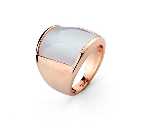 Мужчины Ringa опал мода женщины кольца Марка ювелирные изделия 18K реального позолоченные модные кольца