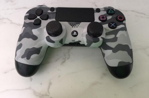 hot sale Front Camo Shell Camouflage Housing Case Cover+R1 L1 R2 L2 Buttons Springs for PlayStation 4 PS4 DualShock 4 Controller Repair