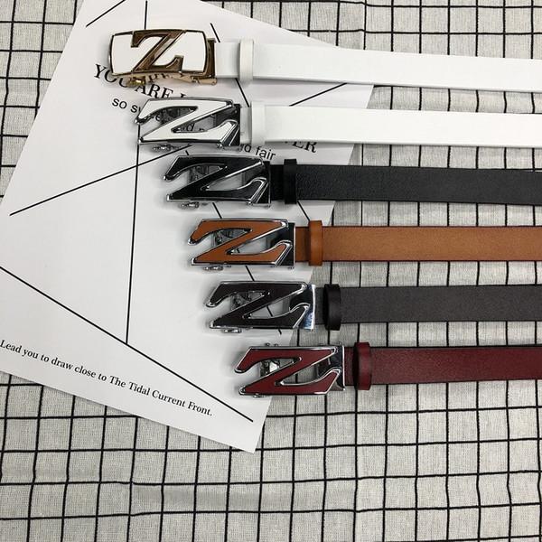 Moda para mujer Pin Hebilla GenuinoLeather Luxury Women cinturones hombre Negro blanco Cinturón de hebilla de aleación Cinturones para mujeres