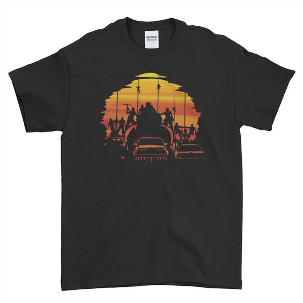 Retro Film Mad Max Mfp Pursuit V8 Auto Interceptor Jungen Männer T-shirt Top Tee