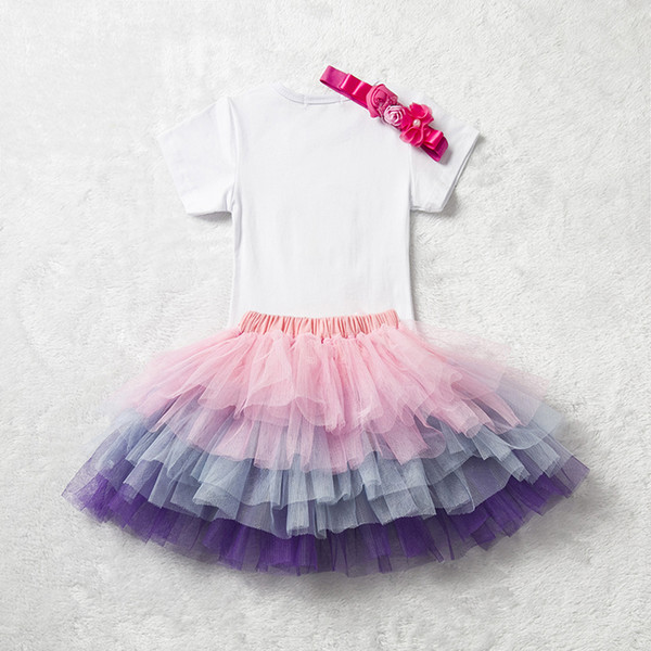 c6c73dde1c37d 2018 Toddler Baby Girl Dress For Little Girl Kids Princess First Years  Birthday Party Clothes Set Tutu Dress Newborn Baby Clothing From Cassial,  ...