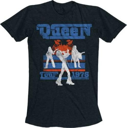 Queen Tour 1976 Silhouette T Shirt S-M-L-Xl-2Xl Brand New Official T Shirt T Shirt Men Man's Best Design Short Sleeve Cotton Custom 3XL Cart